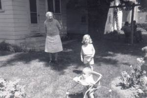 Aunt Gladys circa 1972